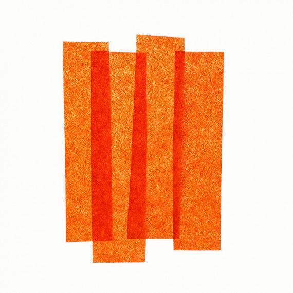 Seidenpapier, 50 x 70 cm, 26 Bogen, orange