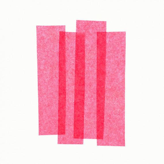 Seidenpapier, 50 x 70 cm, 26 Bogen, rosa