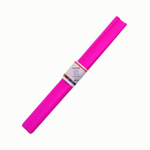 Krepppapier, einzeln, pink