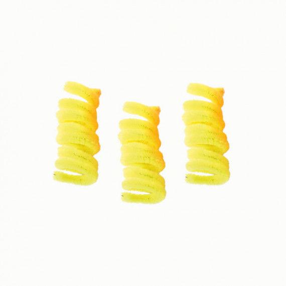 Pfeifenputzer, 10er Pack, gelb