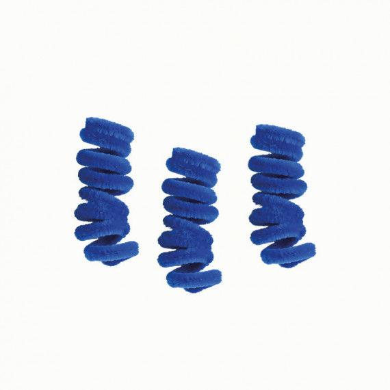 Pfeifenputzer, 10er Pack, blau