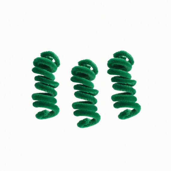 Pfeifenputzer, 10er Pack, grün