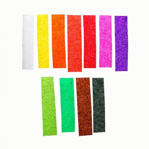 Seidenpapier Sortiment in schönen Farben