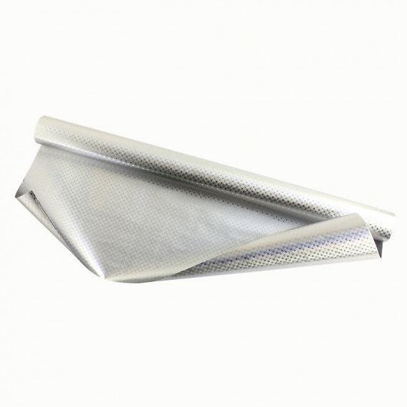 Silber-Sternchenfolie