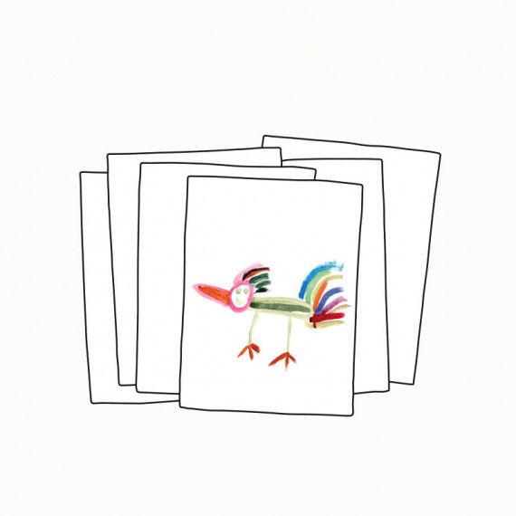 Malblätter, DIN A4, zum Malen und Drucken