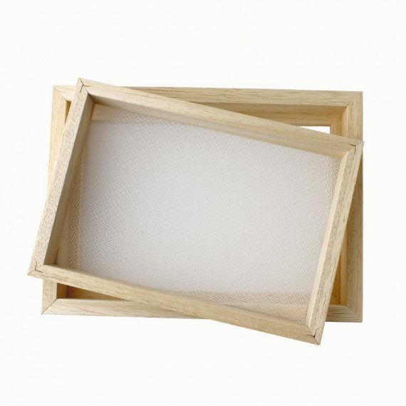 Papierschöpfrahmen, DIN A4
