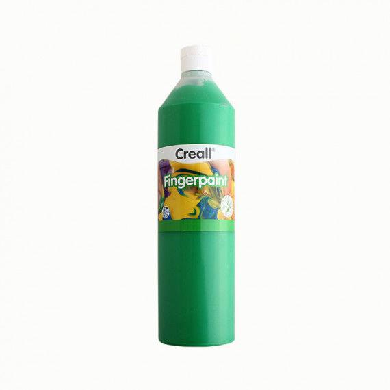 Fingerfarbe, 750ml Flasche, grün