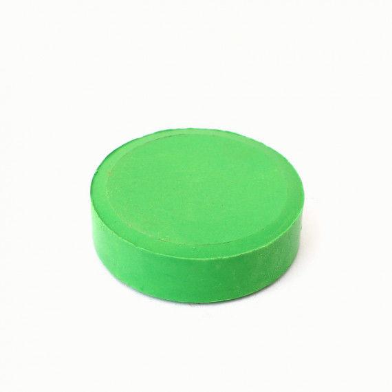 Tempera-Puck 55 mm, gelbgrün