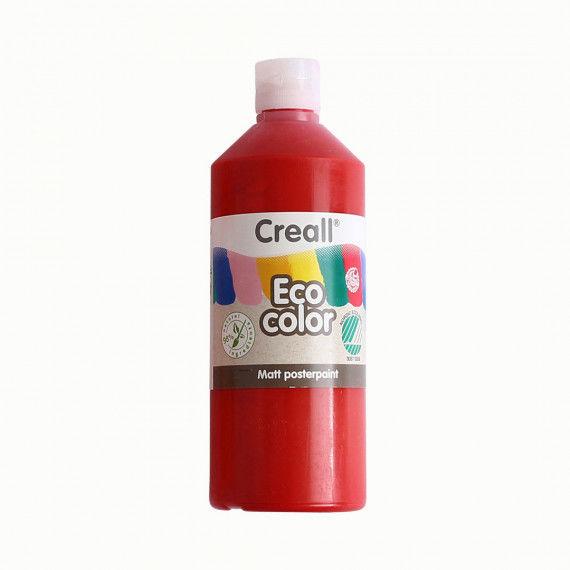 Eco-Color Plakatfarbe, hellrot (zinnoberrot)