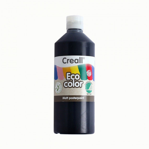 Eco-Color Plakatfarbe, schwarz