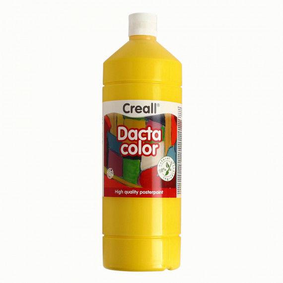 Dacta-Color, 1000 ml Flasche, gelb (primärgelb) zum Mischen