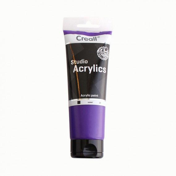 Acrylfarbe, 250 ml Tube, violett