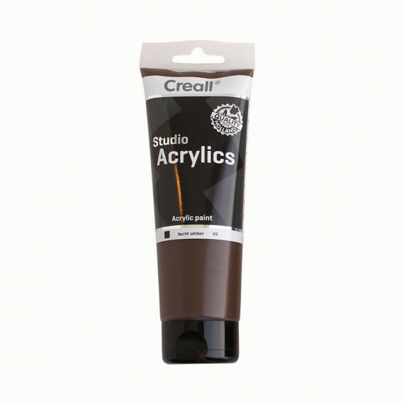 Acrylfarbe, 250 ml Tube, braun