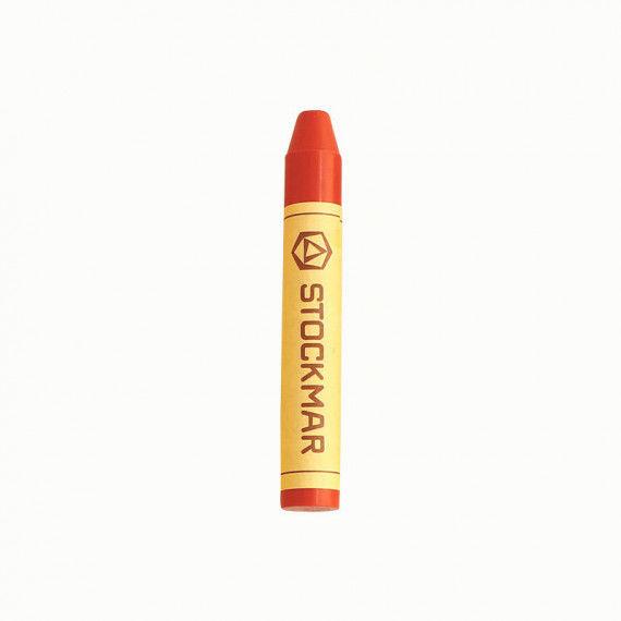 Stockmar-Wachsmalstifte, orange