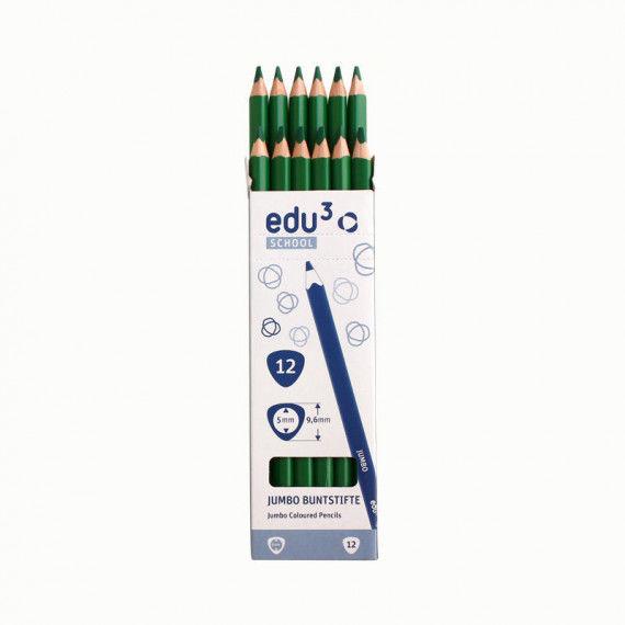 Jumbo Tri, 12 Stifte, grün