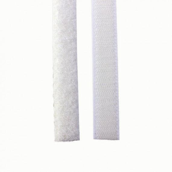 Klettband, weiß
