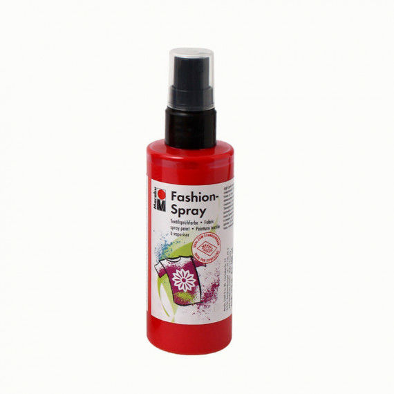 Fashion-Spray, 100 ml Sprühflasche, rot