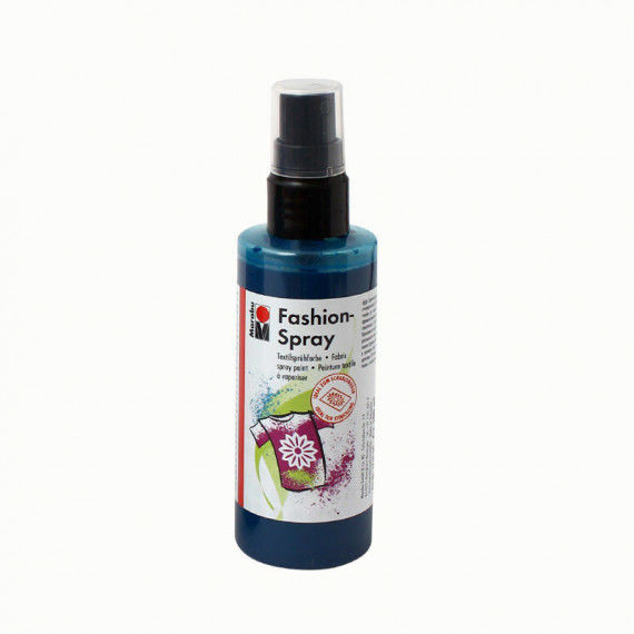 Fashion-Spray, 100 ml Sprühflasche, petrol