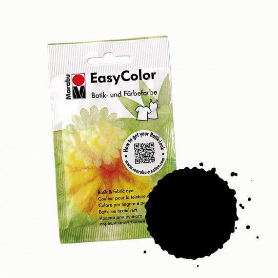 Batikfarbe, 25 g Beutel, schwarz