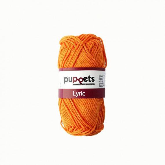 Topflappengarn, orange