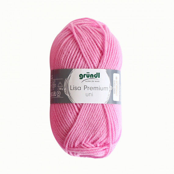 Wolle, 50 g Knäuel, rosa