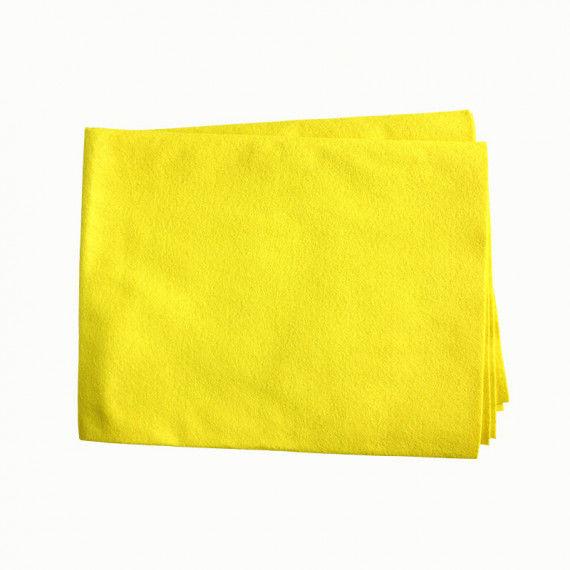Filztuch, gelb