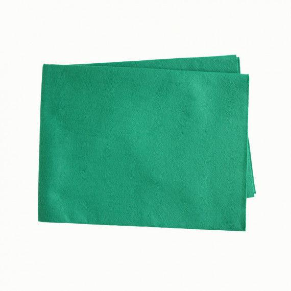 Filztuch, 60 x 90 cm, grün