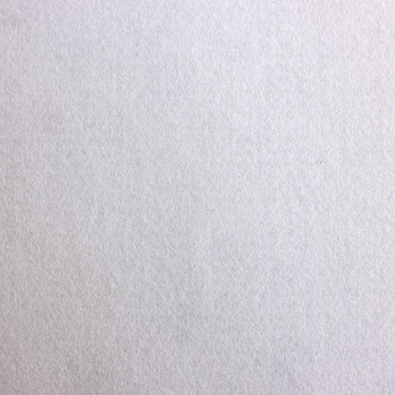 Filzplatte extradick, weiß