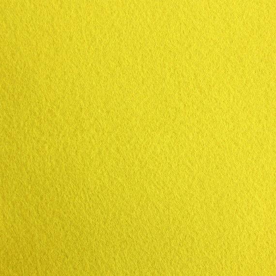Filzplatte, einzeln, gelb