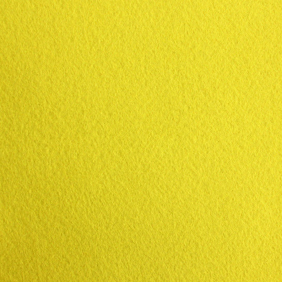 Filzplatte, 20 x 30 cm, gelb