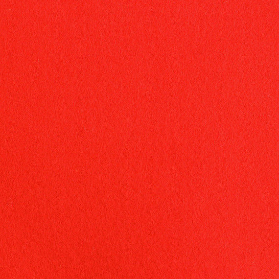 Filzplatte, einzeln, rot