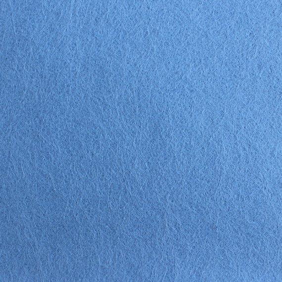 Filzplatte, 20 x 30 cm, hellblau