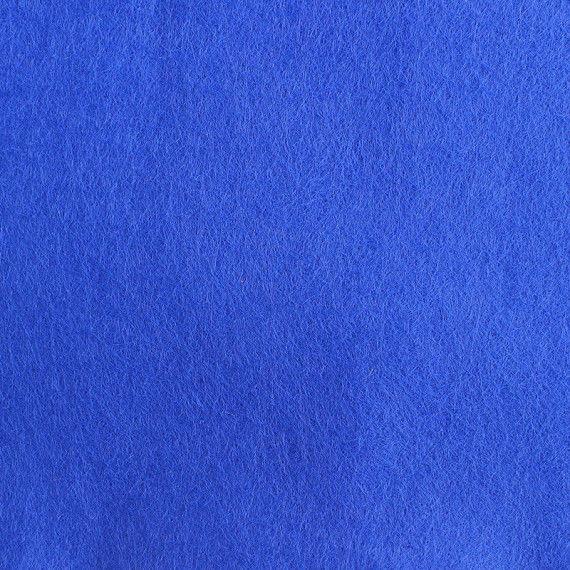 Filzplatte, einzeln, dunkelblau
