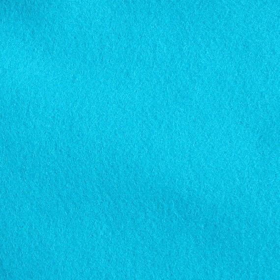 Filzplatte, einzeln, türkisblau