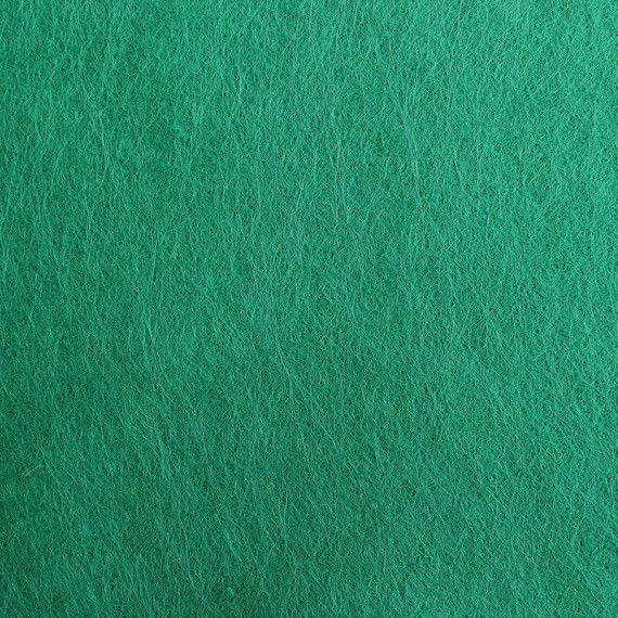 Filzplatte, einzeln, dunkelgrün