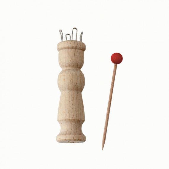 Strickliesel für Kinder aus Holz