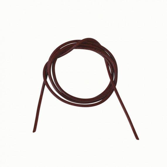 Lederband, 80 cm lang, braun