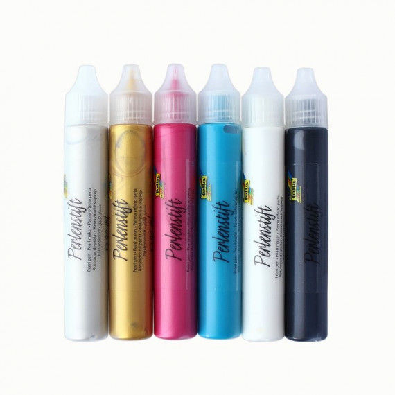 Perlenstifte-Set mit 6 Farben