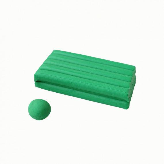 Knete, 250 g Block, grün