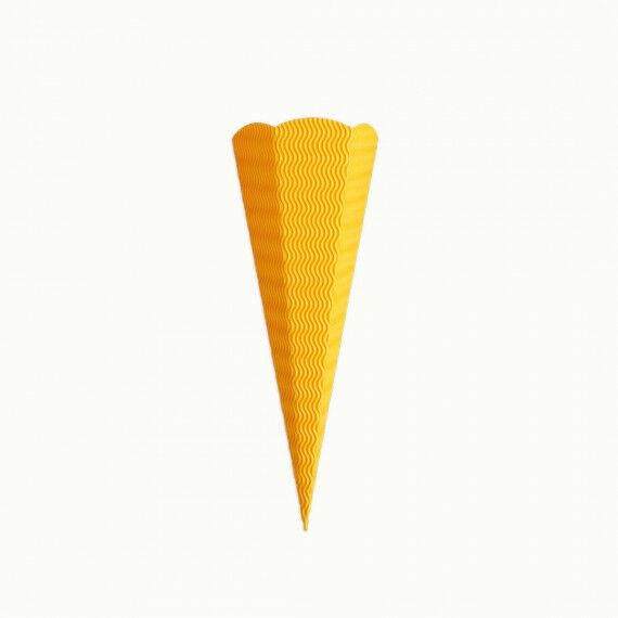 Kleine Schultüte, gelb