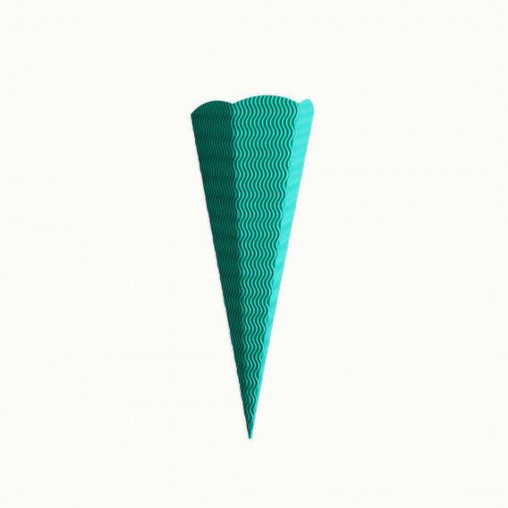 Kleine Schultüte, grün
