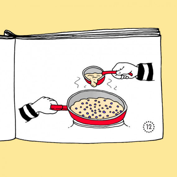 Kochen & Backen - Mini-Buch Rezepte zum Ausdrucken