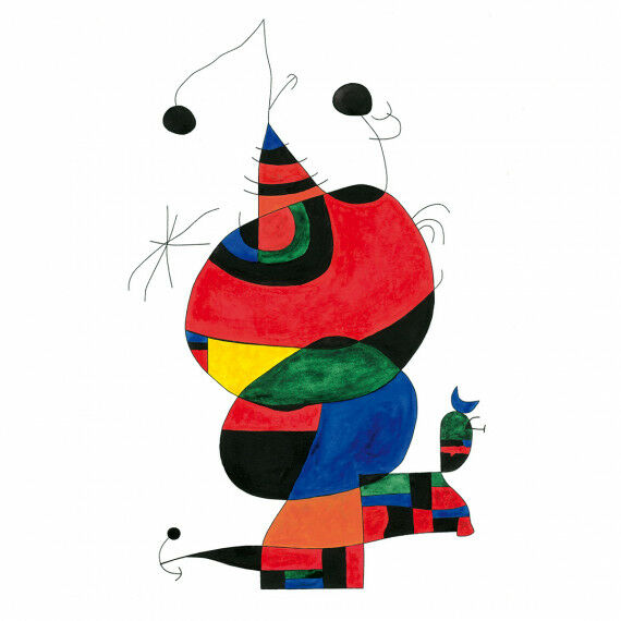 Joan Miró - Hommage á Picasso