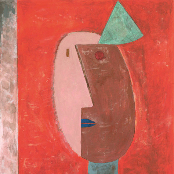 "Ausschnitt ""Clown"" nach Paul Klee"
