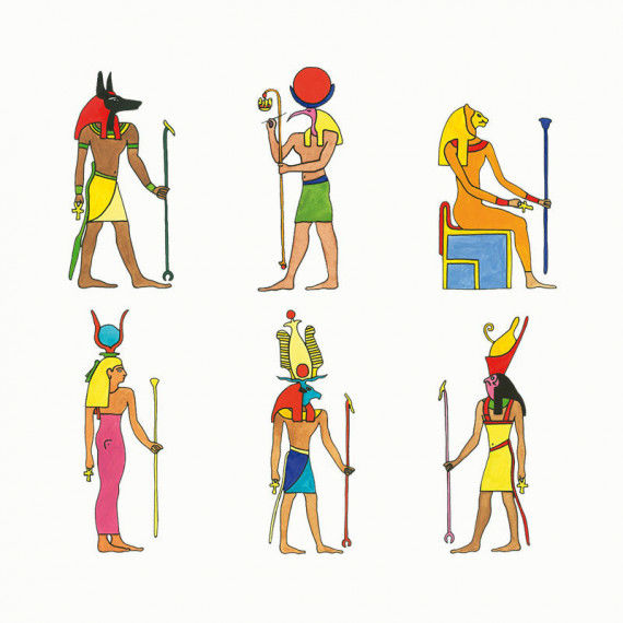 Die Götter Ägyptens PDF | Labbé