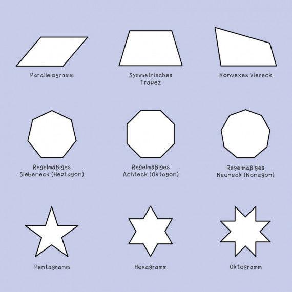 geometrische fl chen polygone pdf labb. Black Bedroom Furniture Sets. Home Design Ideas