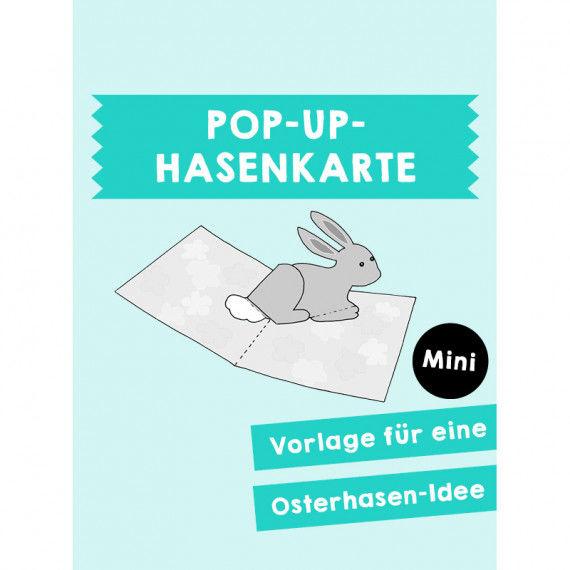 Pop-Up Hasenkarte PDF