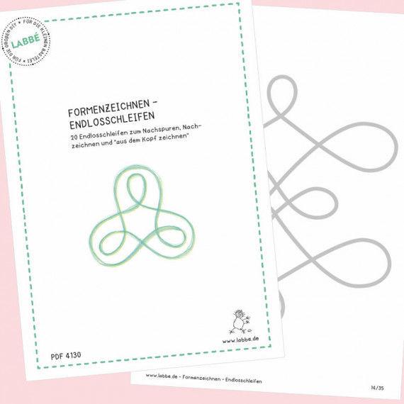 Beispielseiten aus dem PDF Formenzeichnen - Endlosschleifen