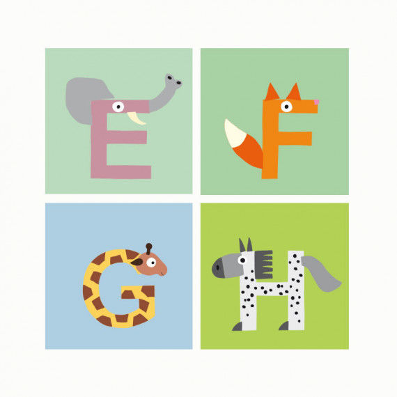 Animal Alphabet printable