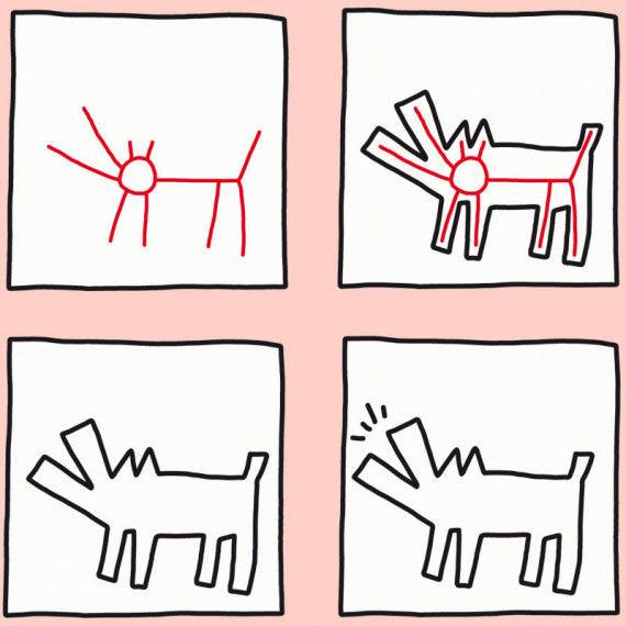 Keith Haring PDF Basteln Malen Lernen  Spielen  LABB